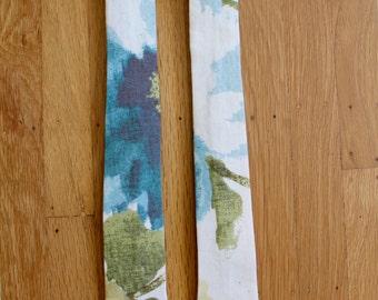 Sage Watercolor Floral Tie