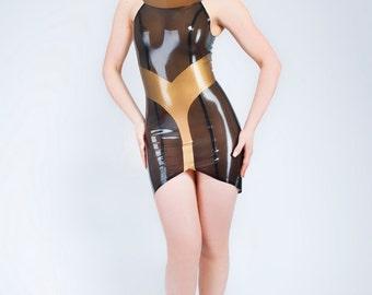 Egyptess Latex Dress, in stock in S & M