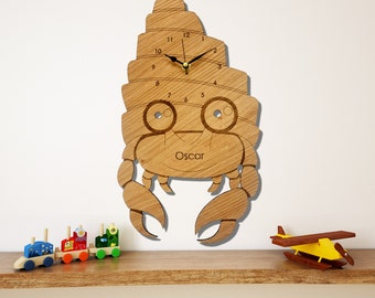 Hermit Crab Clock