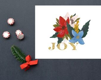 Joy,Christmas, Christmas Decoration,Holiday, 8x10, Instant Download, Printable Artwork, Digital Art, Printable Wall Art