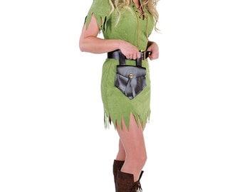 Ladies Peter Pan / Robin Hood  Costume  , sizes 6-22