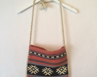 Vintage Woven Purse Made in Greece