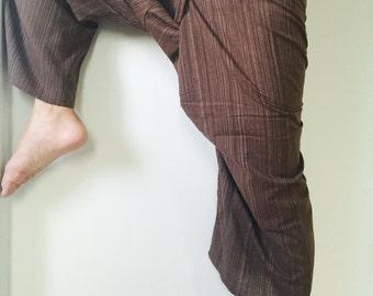 LT BROWN Thai Fisherman Pants - 100% Cotton