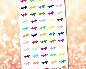 Airplane / Travel Planner Stickers