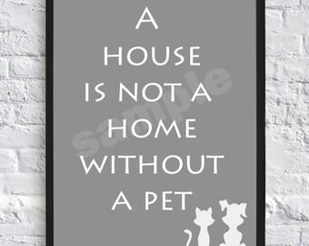 Pet, Wall Art, Print, Cat, Dog