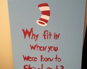 Dr Seuss Wall Decor