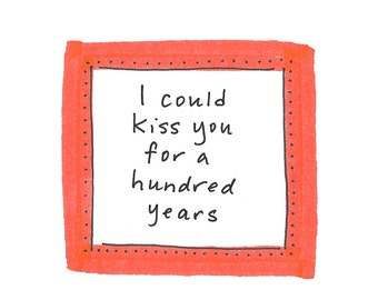I Could Kiss You Card