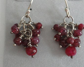 Ruby Earrings   -   #398