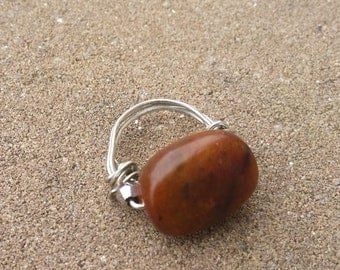 Chocolate Brown Ring (Size 6)