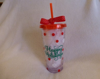 Holiday Hot/Cold Cup
