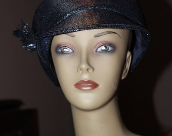 Vintage Oleg Cassini Hat with Original Tags Still Attached.  Perfect Condition