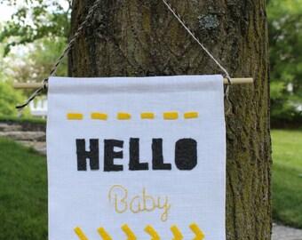 Hello Baby Banner