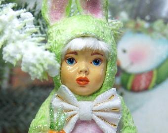 Christmas Ornaments, little doll, Christmas home decor
