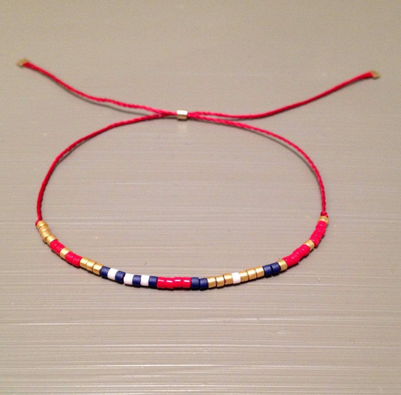 string bracelet friendship bracelet silk by