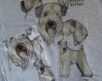 Wheaten Terrier Sweatshirt & T-shirt Set Size Large ( 42 - 44 )