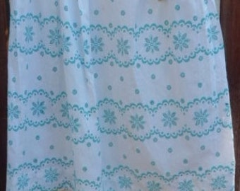 Vintage BLUE And WHITE APRON