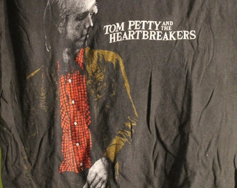 Tom Petty Concert T Shirt! 1981 Authentic Vintage! Tom Petty and the Heartbreakers ~ Hard Promises Tour