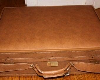 Vintage Hartmann Luggage Pullman Suitcase Belting