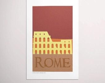 Rome — European Capitals Graphic Poster PDF