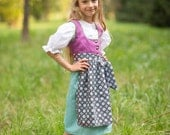 Dirndl, bavarian traditional dress for girls (6month-6years)