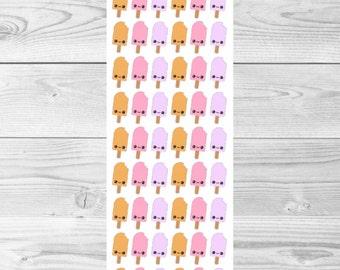 A009 - Kawaii Fruity Popsicle Stickers