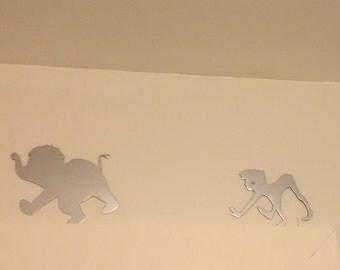Disney Jungle Book Animals movie elephant, Metal Wall Art Decor for nursery, kids bedroom, gifts for kids, playroom, birthday christmas gift