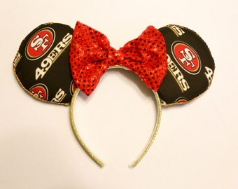 San Francisco 49ers Minnie Ears