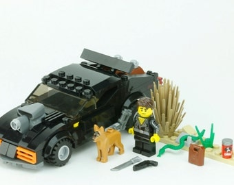 Custom Set MOC of LEGO Elements inspired by Mad Max Ford Falcon
