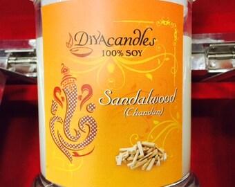 Sandalwood (soy candle) 8 oz