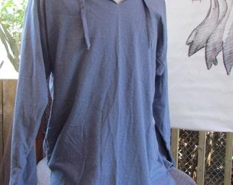 Shirt simple Italian collar