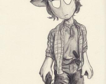Carl (The Walking Dead, Season 6)