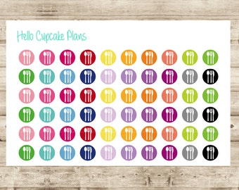 Meal Planner Icon Planner Stickers