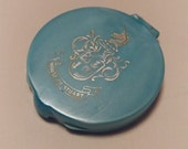 House of Stuart Mirrored Compact ~ Vintage Ladies Compact ~ 1950's Women's Accessories