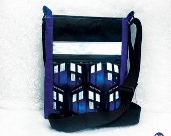Tardis Doctor Who crossbody bag