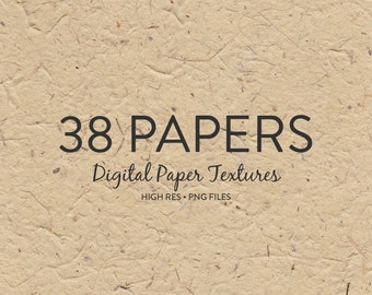 Background Textures - Digitised Paper Texture Backgrounds / Handmade Paper Textures