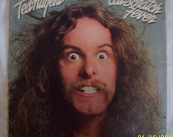 Ted Nugent Cat Scratch Fever vinyl record