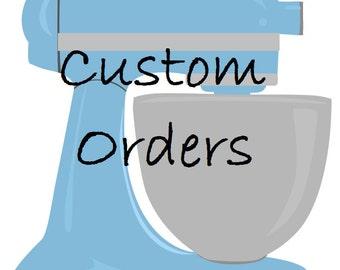 Custom Cookie Designs - Sugar Cookies