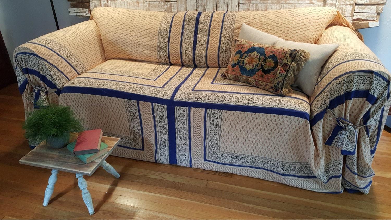 Slipcover Bohemian Sofa Scarf