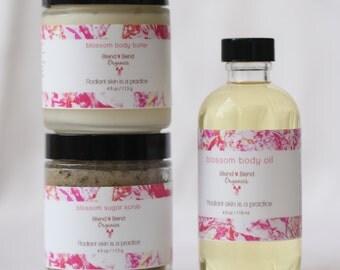 Organic Blossom Body Care Kit