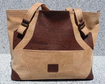All Cork tote/shopping bag/beach bag
