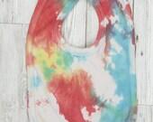 Cotton Rainbow Bib, Speck...