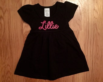 Infant Dress with Child's Name