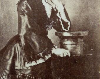 CDV original victorian portrait. 1890s