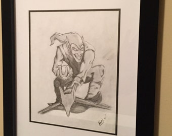 The Goblin Original Pencil Drawing