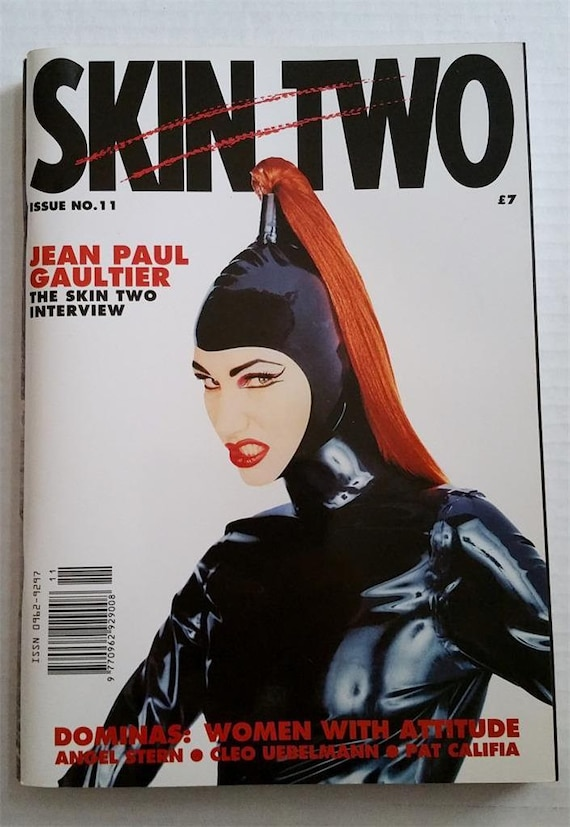 skin two 11 magazine latex rubber 1990 jean paul gaultier