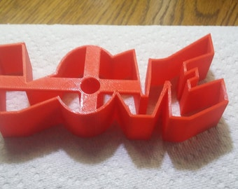 Valentine Love Cookie Cutter