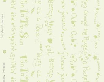 "Catchy Phrases Alphabet Stencil, 8-1/2"" x 11"""