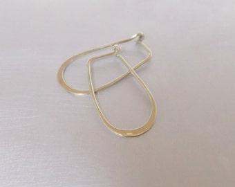 Threader Long Sterling Silver 925 Earrings Loop Earrings