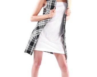 PLATINIUM - dress Tartan English