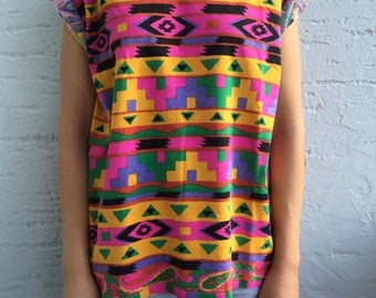 Colorful funky t-shirt